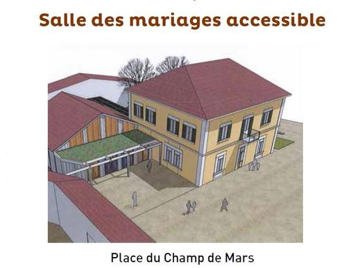 maquette mairie